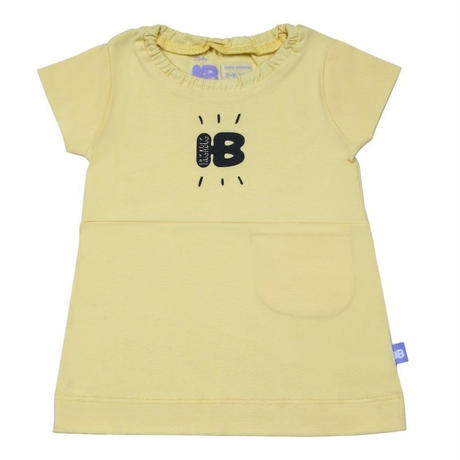 HUGABUG Supersoft Jersey Top Yellow 80/ 92cm