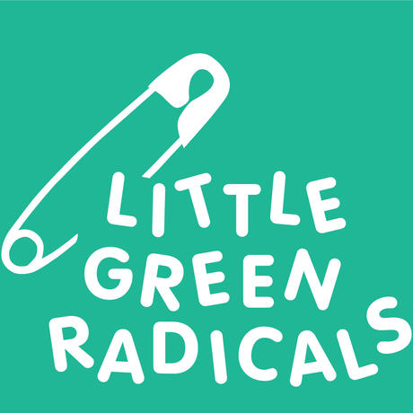 Little Green Radicals オーガニックコットンアップリケ7点セット