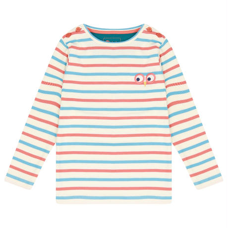 Piccalilly Stripe Ribbed Top 92/ 98/ 104/ 110/ 116/ 122/ 128/ 134/ 140cm