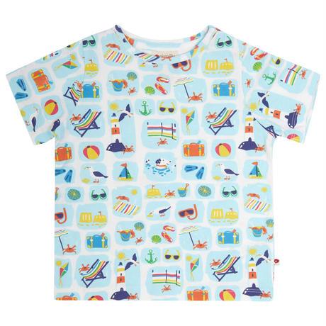 Piccalilly シーサイド Tシャツ 80/86/92/104/110/116cm