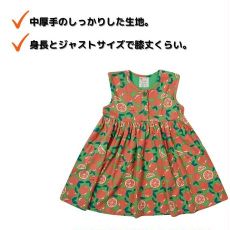 Piccalilly オレンジ ワンピース 92/ 98/ 104/ 110/ 116cm