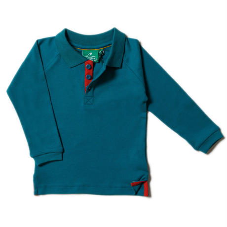 Little Green Radicals Navy Polo 98/ 104/ 110/ 116/ 122/ 128cm