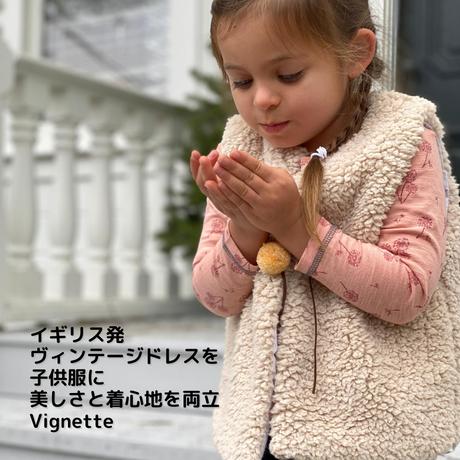 Vignette ふわもこベスト 92/ 98/ 104/ 110/ 116/ 122/ 140/ 146-152cm