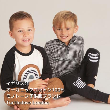 Turtledove London レインボーラグランTシャツ 92/ 98/ 104/110/ 116cm