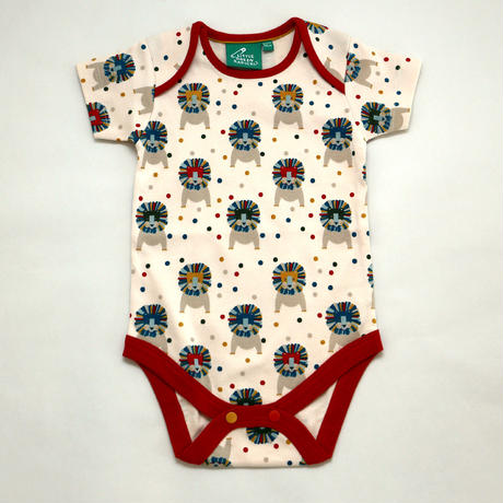 Little Green Radicals Leo Lion Baby Body 2枚セット 72cm/ 80cm/ 86cm