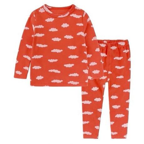 クラウドパジャマ Cloud Pajama Red 130cm
