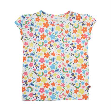 Piccalilly キッズ レインボーTシャツ 80/ 86/ 92/ 98/ 104/ 110/ 116cm