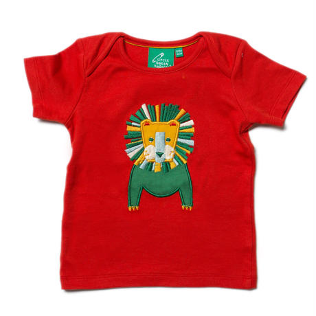 Little Green Radicals Leo Lion Applique Top 92cm/ 98cm