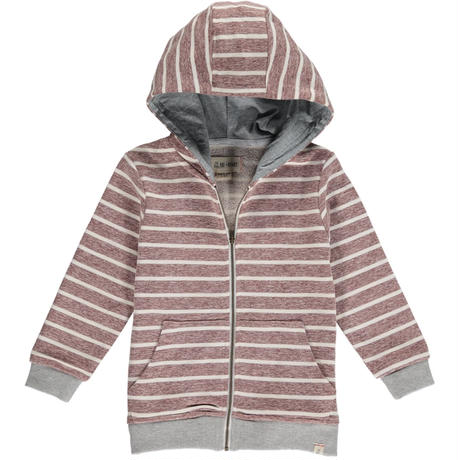 Me & Henry Stripe Hooted Top 104~152cm 【3~12歳まで8サイズ】