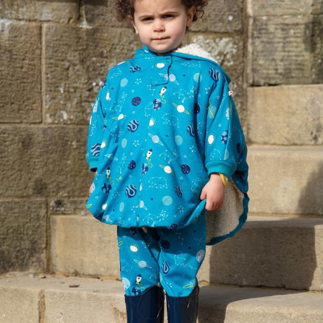 Piccalilly Frog Poncho 18m-3y(86-98cm)