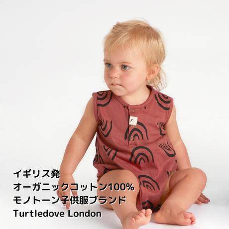Turtledove London レインボー ロンパース 68/ 80cm