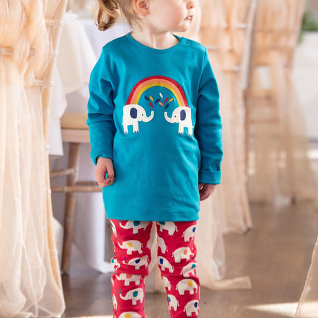 Piccalilly Elephant Leggings 80/ 86/ 92/ 98/ 104cm