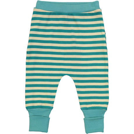 Tootsa Essential Striped Pants ベビーパンツ2枚セット Bright Red & Teal 80/ 86/ 92cm