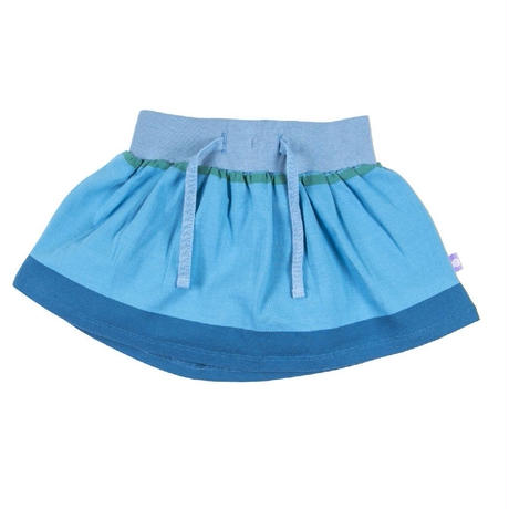 HUGABUG Stripe Skirt Blue 98/ 104cm ※残り98㎝のみ