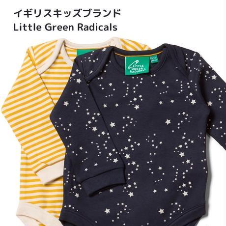 Little Green Radicals スターナイト 長袖ロンパース2枚セット 68/ 74/ 80/ 86/ 92cm