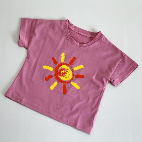 Pink Sun T-shirt 90~130cm