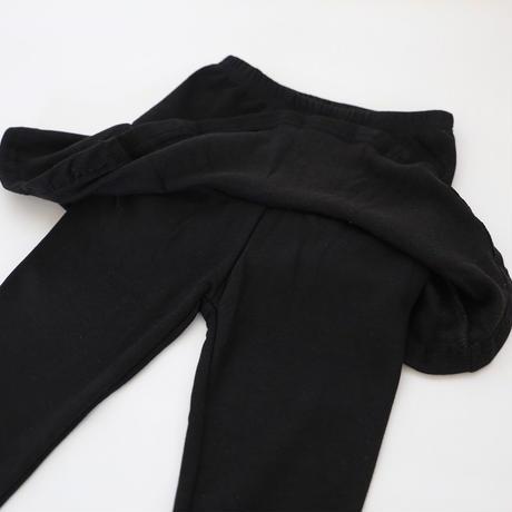 シンプルスカッツ ブラック 90~140cm