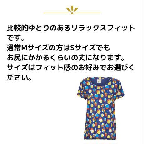 Piccalilly レディース BEACH DAYS Tシャツ 大人サイズ S/ M