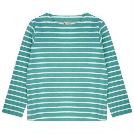 Piccalilly グリーンストライプ長袖Tシャツ 98/ 104/ 110/ 116/ 122/ 128cm