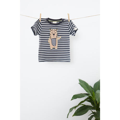 Turtledove London レオパードアップリケTシャツ 80/ 92/  98/ 104/ 110/ 116/ 122/ 128cm