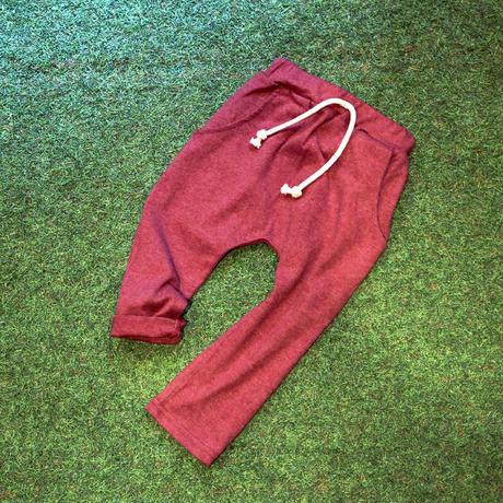 コットン ハーレム・パンツ Cotton Harem Pants Red 100~130cm ※残り130㎝のみ