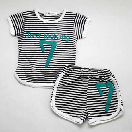 『7』Pajama Navy 100cm/ 120cm