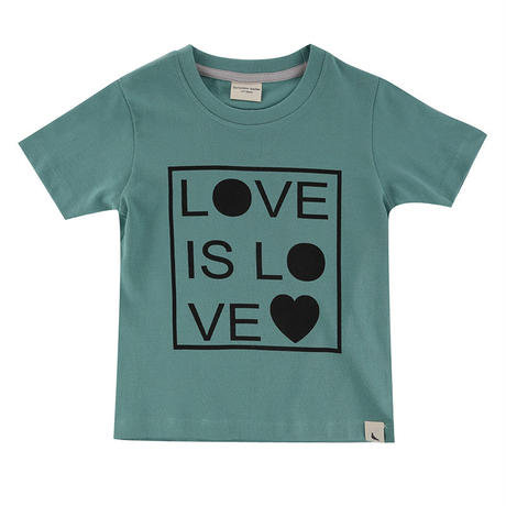 Turtledove London LOVE IS LOVE Tシャツ ブルー 80/ 92/  98/ 104/ 110/ 116cm