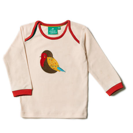 Little Green Radicals Rainbow Robin Applique T 92/ 98/ 104cm