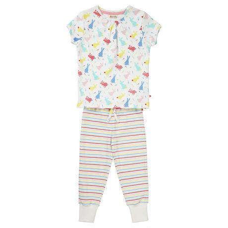 Piccalilly Hoppiong Bunny Pajamas Long 92/ 98/ 110/ 116/ 122cm