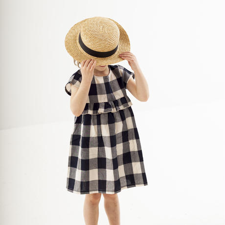 Turtledove London CHECK WOVEN DRESS 98cm/ 104cm/ 110cm/ 116cm