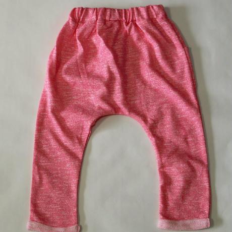 スウェットハーレムパンツ Jerysey Harem Pants Pink 90~120cm