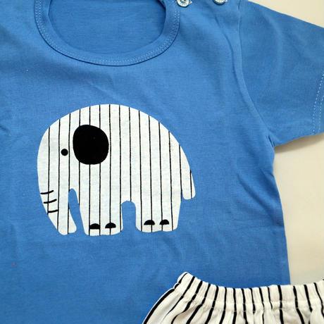 Elephant Pajama Blue 90~120cm