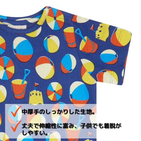 Piccalilly キッズ BEACH DAYS Tシャツ 80/86/92/98/104/110/116/122/128cm