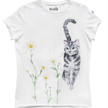 Cat & Daisy Tシャツ Nach