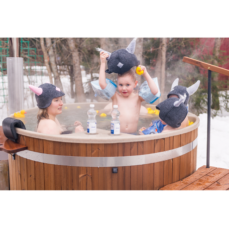 HOT TUB Comfort Family    Thermo Wood / Soft Beige