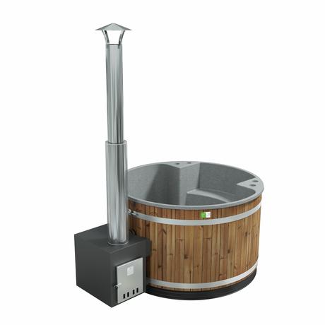 HOT TUB ホットタブ Comfort Family  Thermo Wood / Stone Gray セット