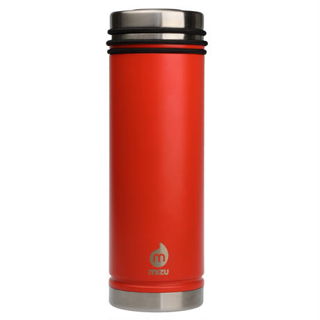 MIZU V7 WIDE Enduro Orange (Vermilion) / w New Stainless Lid