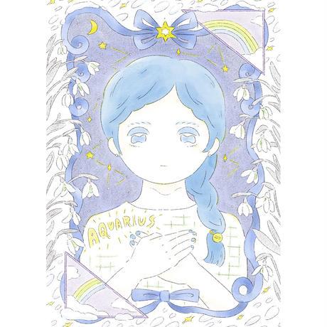 Aquarius(水瓶座)<額装済>