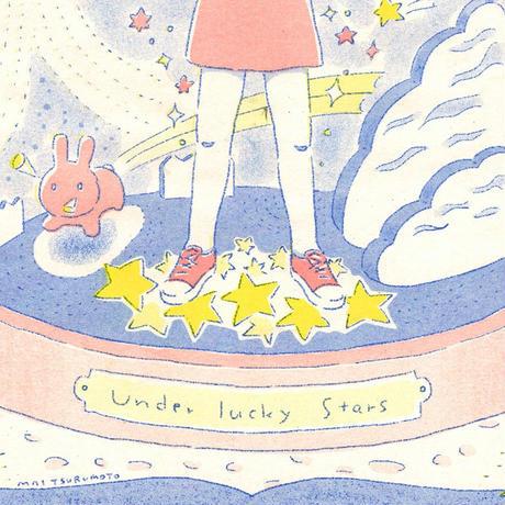 リソグラフポスター「 Under the stars 」