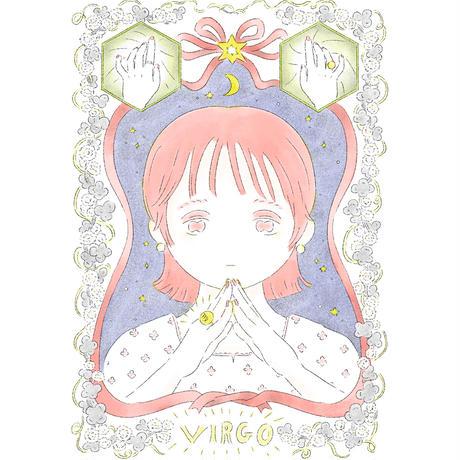 Virgo(乙女座)<額装済>
