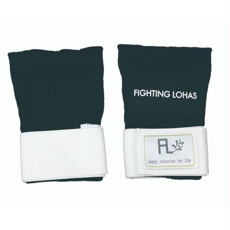 ISAMI FIGHTING LOHAS Knuckle Supporter Hand wrap for women Black L-370BK