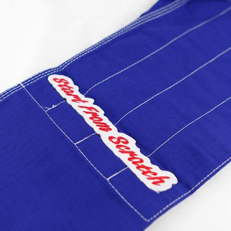ISAMI Scratch Jiu-jitsu gi Dogi Jacket pants set Blue JJ-790