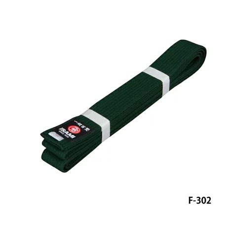 ISAMI Made in JAPAN Karate, BJJ, Other Martial arts Rank Belt obi Green F-302