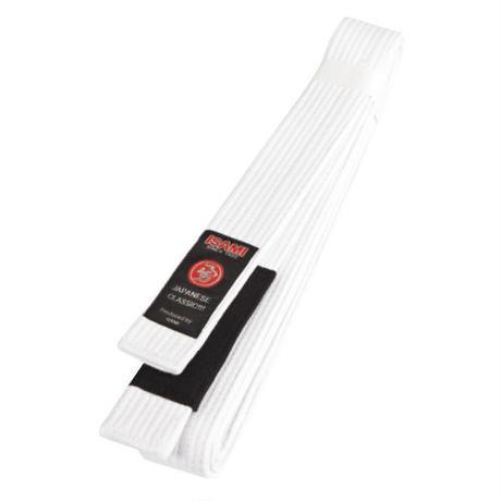 ISAMI Jiu-jitsu, BJJ, Other Martial arts Rank Belt obi White (include Black cloth) JJ-20