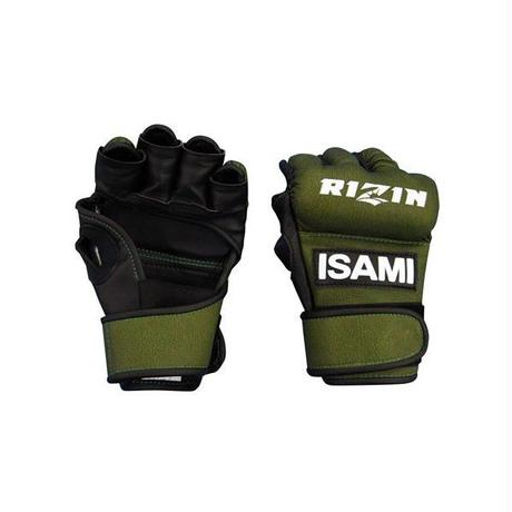 ISAMI RIZIN Official competition MMA Open finger gloves S / M / L RZ-001