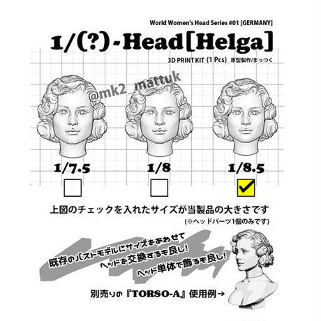1/8.5-Head[HELGA]