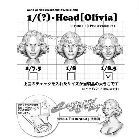 1/8.5-Head[OLIVIA]