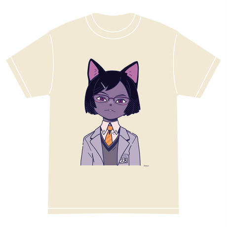 「クロ」 サナダシン オリジナル Tシャツ アイボリー