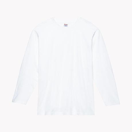 「pssst」もろほししづく オリジナル Tシャツ ホワイト 長袖
