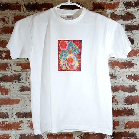 「タイヨウノウタ」 おかしなせかい オリジナル Tシャツ ホワイト